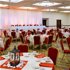 Event space at Marriott Mayo Clinic